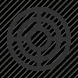 aim, goal, seo, targeting icon