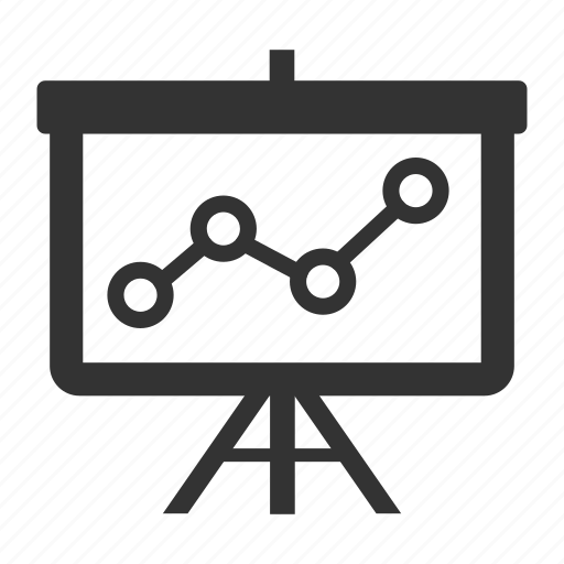 analysis, diagram, graph, presentation, seo icon