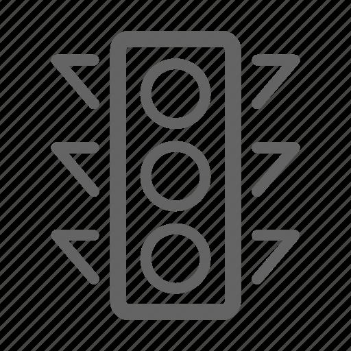 development, search, seo, stroke, web, web traffic control icon