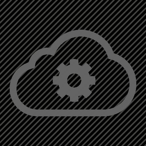 cloud serviceoptimization, development, search, seo, stroke, web icon