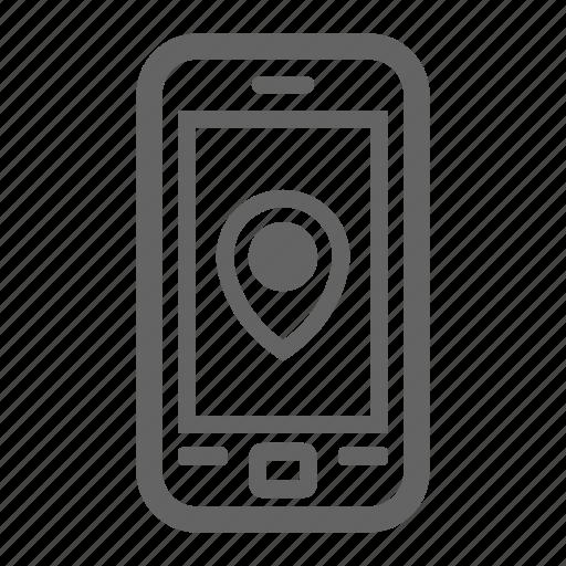 Development, mobile tracker, search, seo, stroke, web icon - Download on Iconfinder