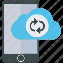 analytics, cloud, mobile, mobile marketing, seo, social media, web designer icon