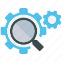 analytics, mobile marketing, optimization, search, seo, social media, web designer icon