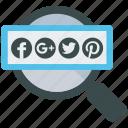 analytics, mobile marketing, search, seo, social, social media, web designer icon