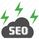 cloud, mobile marketing, seo icons, seo pack, seo services, web design icon