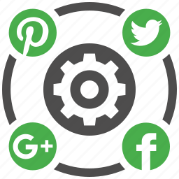 media, mobile marketing, seo icons, seo services, settings, social, web design icon