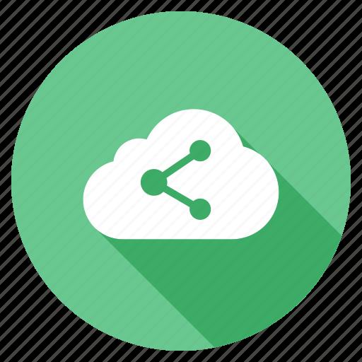 development, search, seo, shadow, social media cloud, web icon