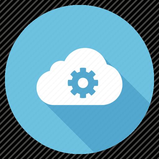 cloud serviceoptimization, development, search, seo, shadow, web icon