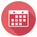 development, event calendar, search, seo, shadow, web icon