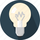 bulb, electric, electrical, idea, incandescent, innovation, light bulb icon