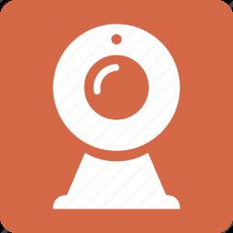 camera, device, marketing, mobile, red, scape, square icon