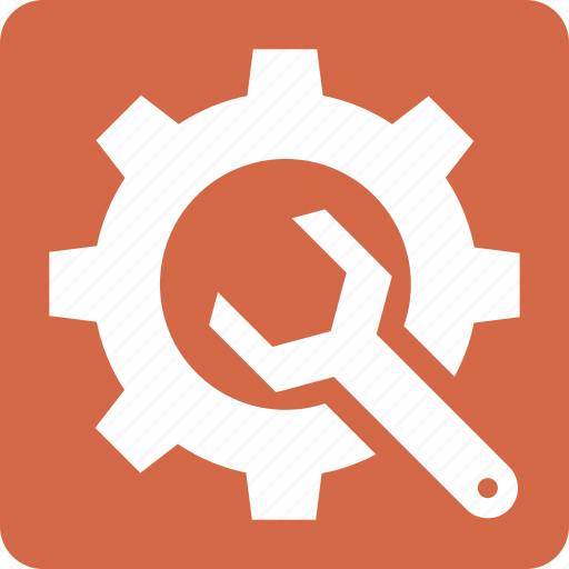 content, gear, management, setting, wrench icon