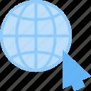 cursor, earth, globe, internet, network, web, world