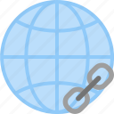 globe, internet, link, url, web, website icon