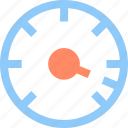 accelerate, optimization, speed, speedometer icon