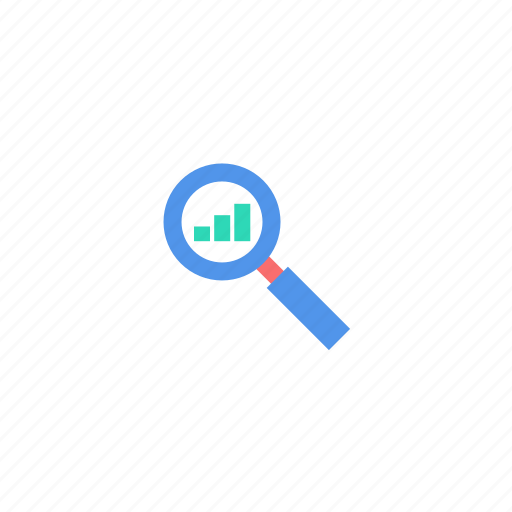 internet, magnifying glass, marketing, search, seo, top icon