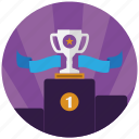 achievement, award, best, champion, medal, seo, seo award icon