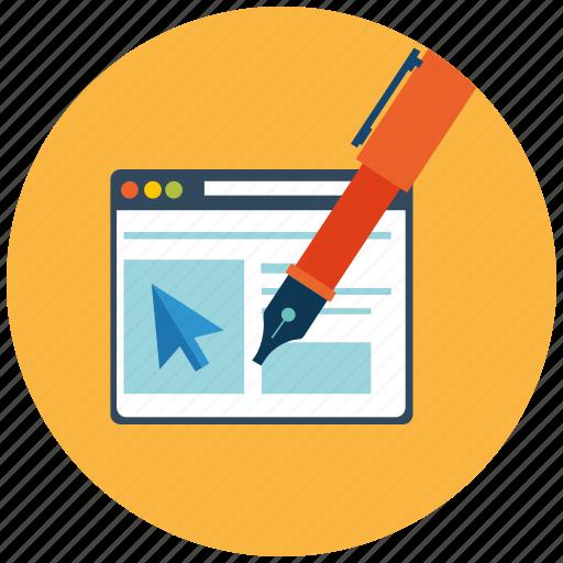 design, flat icon, optimization, page, seo, web, web page icon