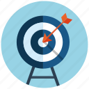 aim, business, crosshair, goal, market, seo, target icon
