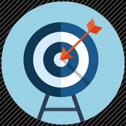 aim, business, crosshair, goal, market, seo, target icon