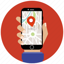 flat icon, gps, location, map, marker, navigation, seo icon