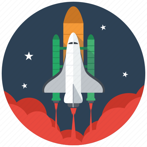 launcher, marketing, rocket, seo, services, space, spaceship icon