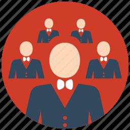 flat icon, groups, ico, leader, market, seo, team icon