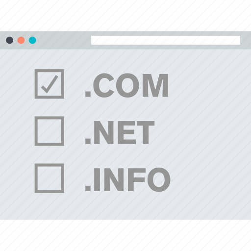 domain, hosting, internet, registration, website icon