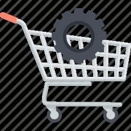 e-commerce, flat design, internet, online, optimization, sale, shopping icon