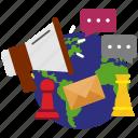 development, internet, marketing, seo, strategy icon icon