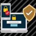 lock, protect, secure, security, seo icon, • development icon