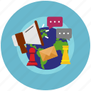 \development, internet, marketing, seo, strategy icon icon