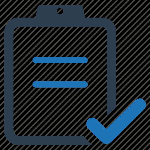 audit, checklist, complete, survey, tracklist icon