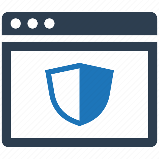 browser, protection, security, web, website icon