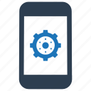 configuration, gear, marketing, mobile, option icon