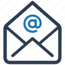 email, envelope, mail, newsletter, subscription icon