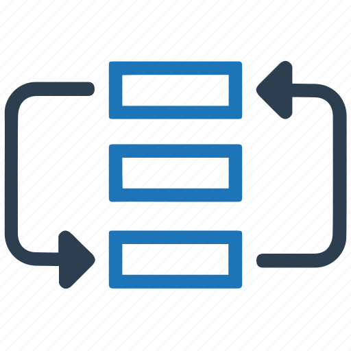 flowchart, project, strategy, workflow icon
