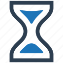 hour, hourglass, schedule, time, waiting icon