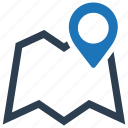 address, location, map, navigation, pin icon