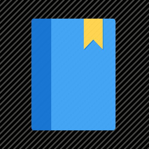 book, bookmark, label, ribbon, service, sticker, tag icon