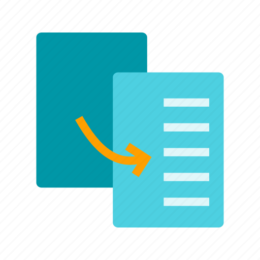 business, data, duplicate, file, information, marketing, paper icon