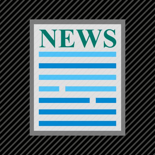 breaking, latest, news, newsletter, online, press, release icon
