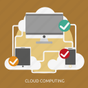 cloud, computing, development, seo icon