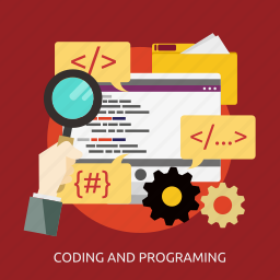 coding, development, programming, seo icon