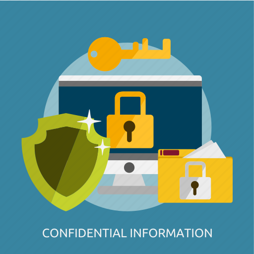 confidential, development, information, seo icon