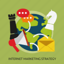 development, internet, marketing, seo, strategy icon