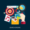 development, engine, search, seo icon