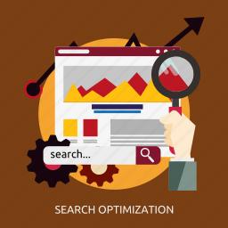 development, optimization, search, seo icon