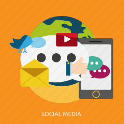 development, media, seo, social icon