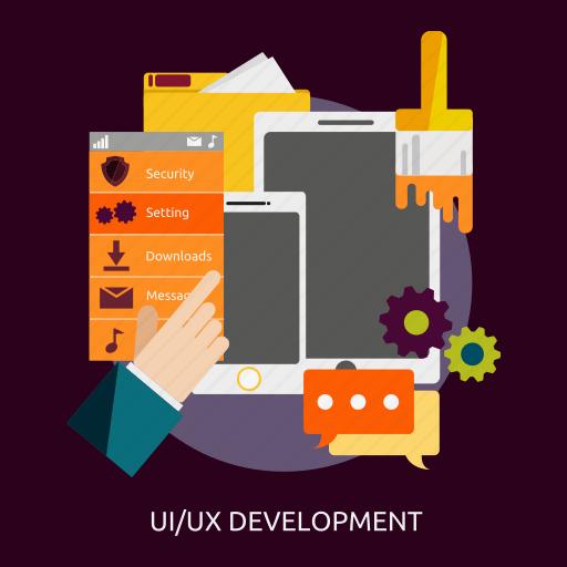 development, seo, ui, ux icon